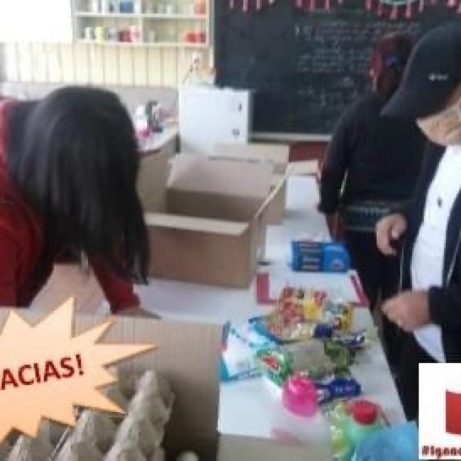 Hulp voor kinderen in Chili in Coronatijd