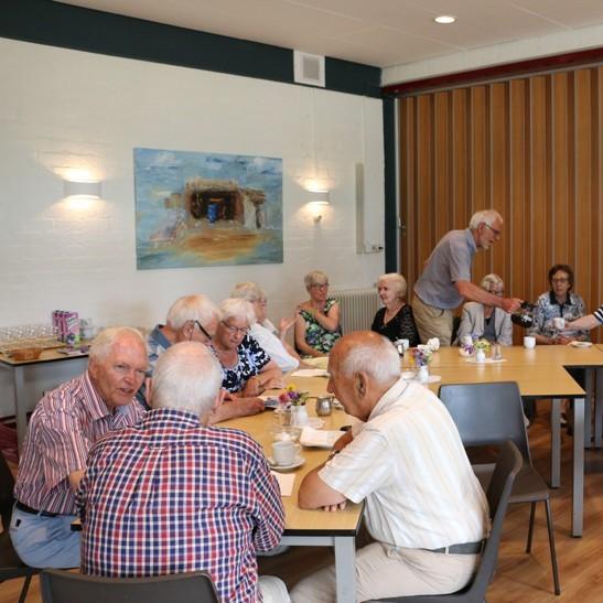 Koffieochtend senioren in Pelgrimskerk