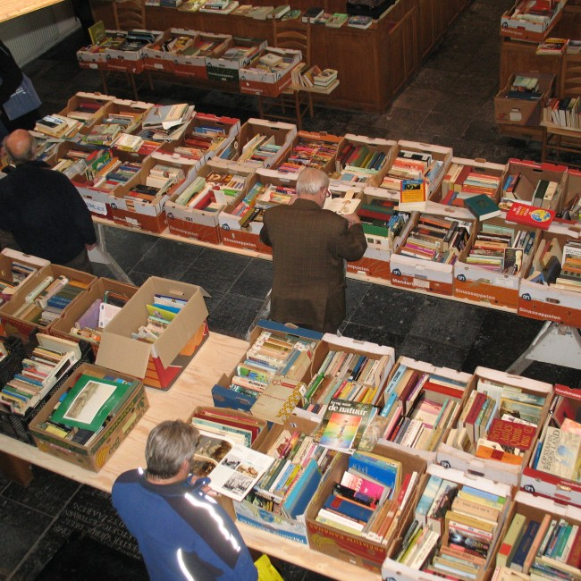 Twee boekenmarkten Renesse