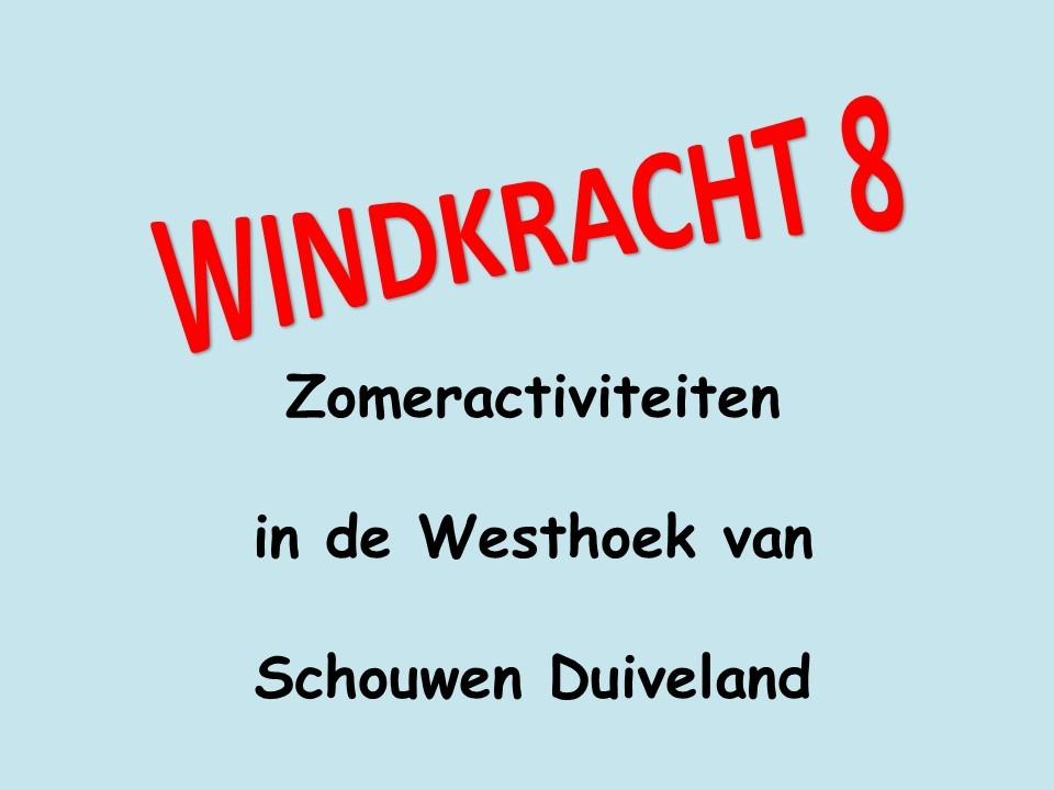 Zomeractiviteiten in en rond de Windkracht 8 kerken